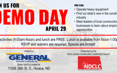 Demo Day April 29: A Great Hands-on Opportunity for Students Considering a Career in Construction