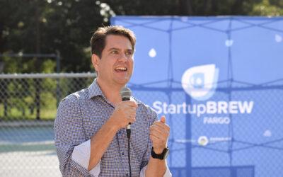 GPS featured at Emerging Prairie's StartupBREW